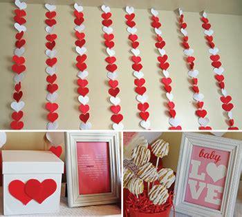 valentine baby shower theme