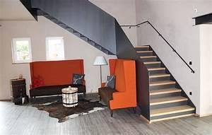 Stahltreppe Mit Holzstufen : stadler treppen plz 88348 bad saulgau metalltreppe mit br stungshohem gel nder und ~ Orissabook.com Haus und Dekorationen