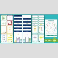 * New * Number Shapes 010 Matching Peg Activity Pack  Number Shape