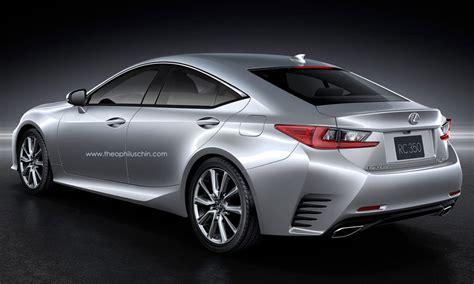 lexus sport car 4 door the lexus rc as a four door coupe lexus enthusiast