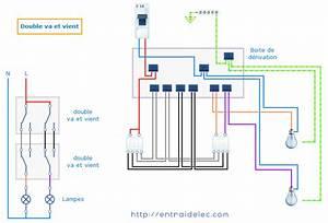 Double Va Et Vient : sch ma electrique double va et vient ~ Nature-et-papiers.com Idées de Décoration