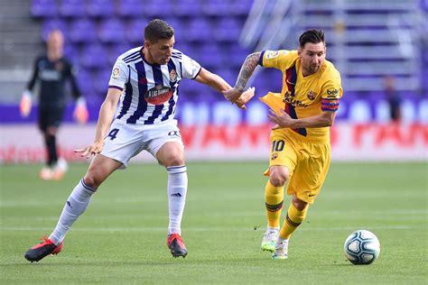Valladolid 0-1 FC Barcelona LIVE! Latest score, goal ...