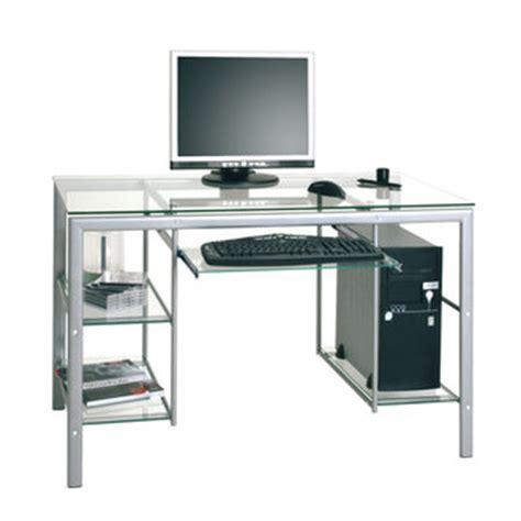 bureau pour ordi table rabattable cuisine meuble en verre pour