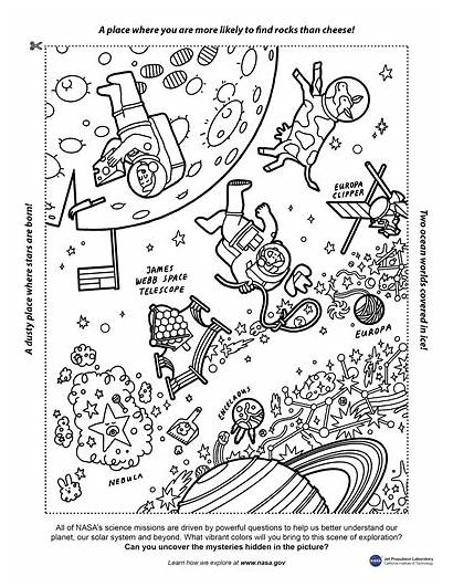 Nasa Webb Coloring Universe Featuring