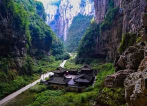 Sink Hole In China by Chongqing To Wulong Karst Day Tour By Bus Independently