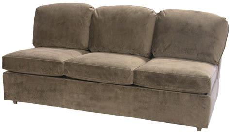Armless Loveseat Sleeper by Roth Sectional Armless Sleeper Sofa Carolina Chair
