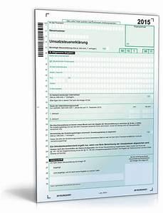 Paypal Rechnung Ausdrucken : umsatzsteuererkl rung 2015 formular zum download ~ Themetempest.com Abrechnung