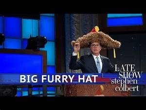 Big Furry Hat: 'Amen!' Edition – Late Show – ParqView