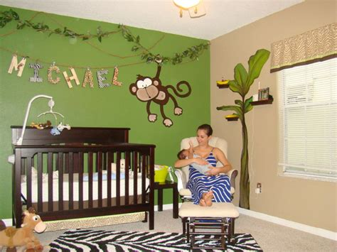 Safari Living Room Decor by Michaels Jungle Baby Room Eclectic Kids Other Metro