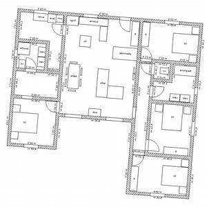 plan de maison en u maisons modernes en u With wonderful faire un plan de maison 5 maison contemporaine 12 detail du plan de maison