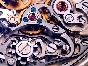 Close-up Mechanical Interior Watches - 1600x1200px ...