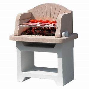 Barbecue En Dur : barbecue en b ton palma castorama ~ Melissatoandfro.com Idées de Décoration