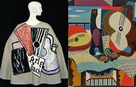 picasso e yves laurent arte e moda i quadri diventano moda alfemminile