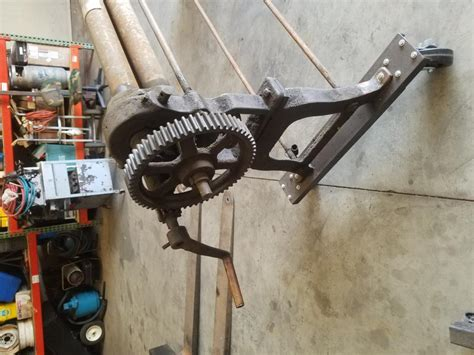 antique sheet metal roller