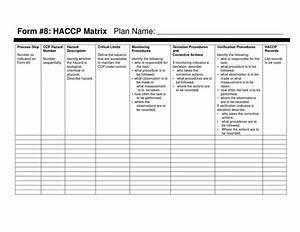pin haccp plan template pdf on pinterest With haccp plan template free