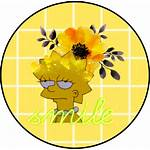 Aesthetic Yellow Clipart Sunflower Hearts Transparent Sticker