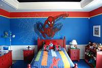 avengers boys bedroom designs Avengers Murals hand painted throughout a Boy's bedroom.