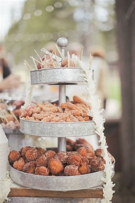 trending  perfect wedding donuts display ideas