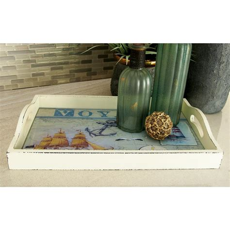 decorative tray home decorators collection 25 in h tuscan multi wood wine