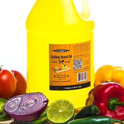 Clark's Butcher Block Oil (1 Gallon)  Foodgrade Cutting