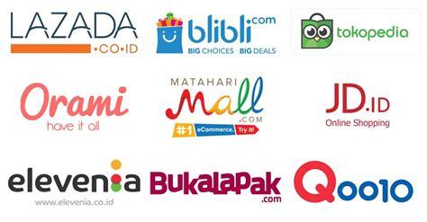 inilah   commerce terpopuler  terlaris  indonesia