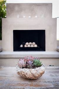 Avignon Drive Smooth Stucco Fireplace Stacking The Deck