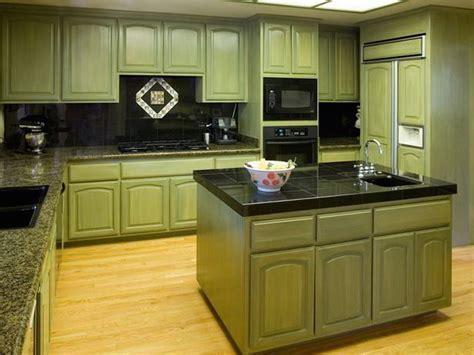 Dark Green Kitchen Cabinets Dark Green Painted Kitchen