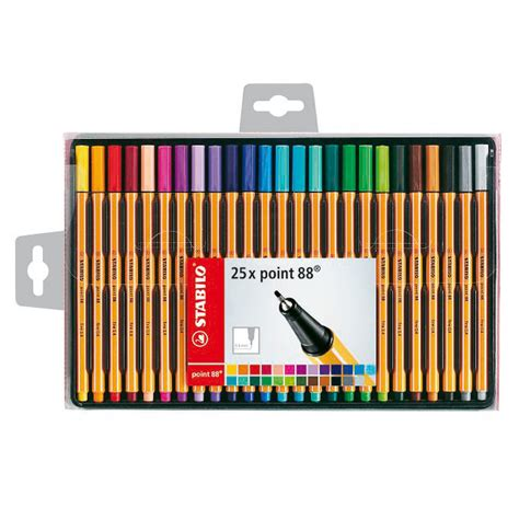 furniture kitchen sets stabilo point 88 fineliner pens 25pk stationery