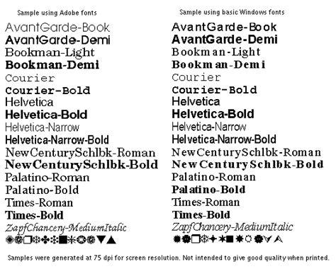 psalter font handling details