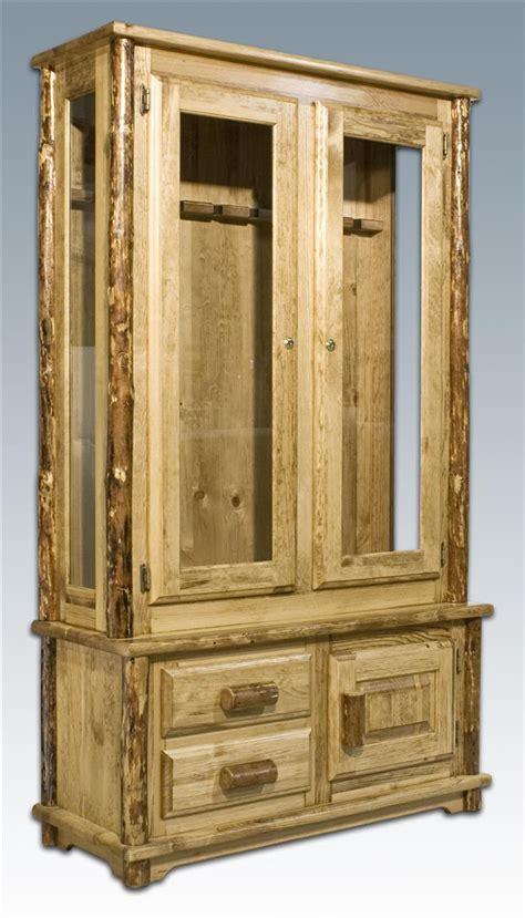 Gun Cabinet by Montana Woodworks Glacier Country Gun Cabinet 178332