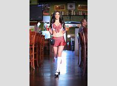 Marissa serving some beer! Tilted Kilt Pub & Eatery