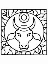 Zodiac Coloring Pages Signs Coloringtop sketch template