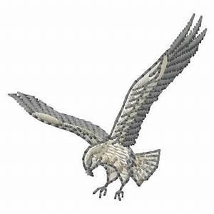 Falcon Embroidery Design | AnnTheGran