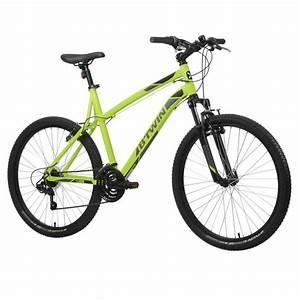 B Twin Fahrrad Test : avis test vtt rockrider 340 jaune 26 b 39 twin prix ~ Jslefanu.com Haus und Dekorationen