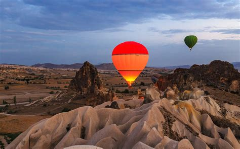 Flying In A Hot Air Balloon In Cappadocia Should Be On