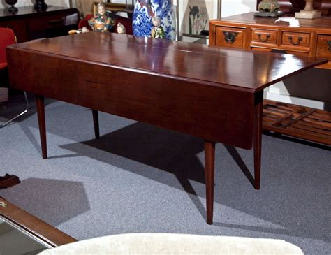 cherry drop leaf dining table cherry wood dining table with drop leaf image 2