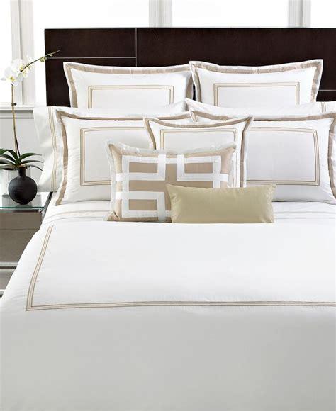 hotel collection bedding tuxedo embroidery collection bedding collections bed bath