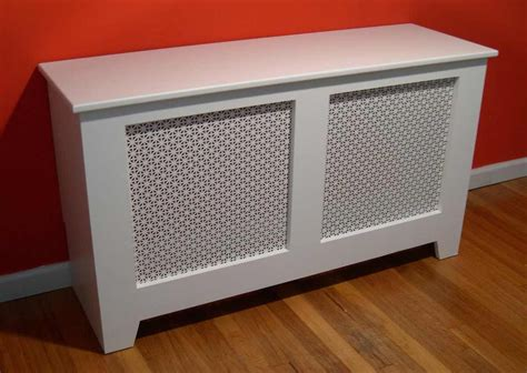 Diy White Baseboard Heating Covers...same Type Of Concept