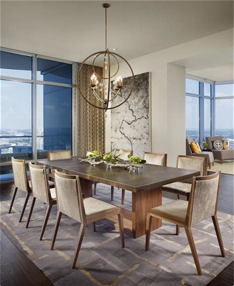25 contemporary dining room designs