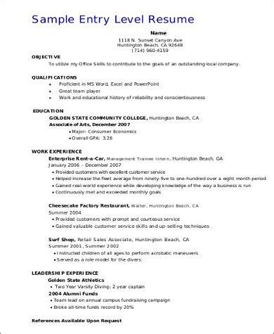 resume ber kulturindustrie pdf 7 sle entry level sales resumes sle templates