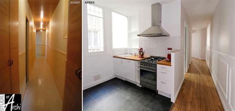 ouvrir cuisine ouvrir la cuisine sur le couloir studio d 39 archi le d 39 architecte de nicolas sallavuard