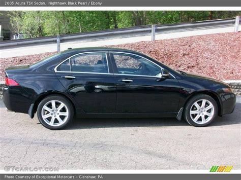 2005 Acura Tsx Sedan In Nighthawk Black Pearl Photo No