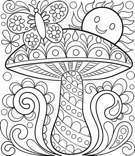 printable easy adult coloring pages  images