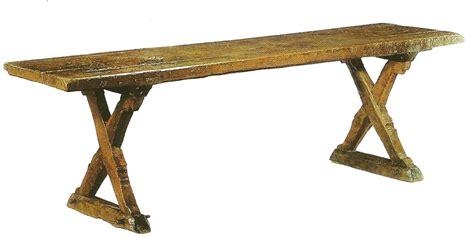 chaise du moyen age meubles de salle à manger table de bois massif faites