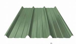Tole Bac Acier Isolante : toiture t le bac acier vert r s da 1ml x 3ml multimat 76 ~ Melissatoandfro.com Idées de Décoration