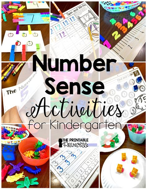 the printable princess number sense for kindergarten 958 | Main%2Bpic