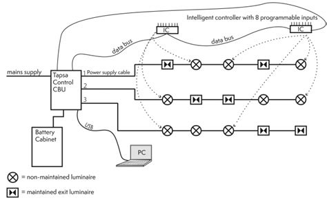 intelligent controllers for central battery systems