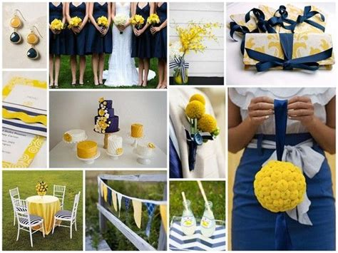 Yellow And Navy Color Pallette! Love Seeing Other