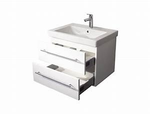 Waschtisch Mit Keramikbecken : waschtisch unterschrank mit villeroy boch keramikbecken subway 2 0 65 cm weiss ebay ~ Sanjose-hotels-ca.com Haus und Dekorationen