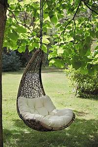 Fauteuil Suspendu Macramé : fauteuil de jardin suspendu balancelle c t maison ~ Teatrodelosmanantiales.com Idées de Décoration